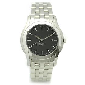GUCCI グッチ YA55211 Gクラス ブラック/シルバー メンズウォッチ/腕時計