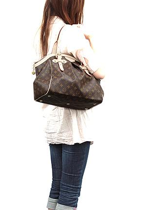 Louis Vuitton bag LOUIS VUITTON Vuitton M40144 Monogram Tivoli GM shoulder bag