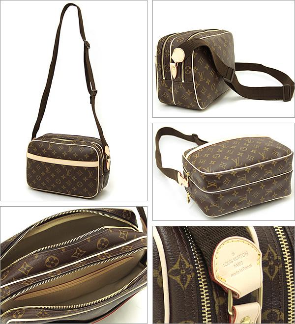 Louis Vuitton 袋路易威登路易威登 M45254 Monogram 记者下午中性肩包