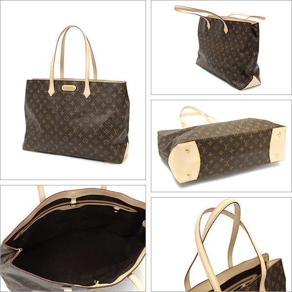 Louis Vuitton bags VUITTON LOUIS VUITTON M45645 Monogram Wilshire GM tote bag Monogram Canvas