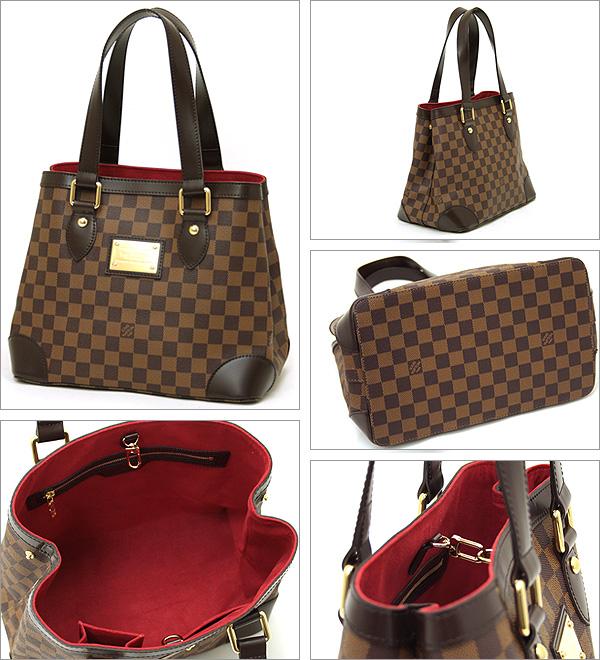 Louis Vuitton bag LOUIS VUITTON Vuitton N5125 Damier Hampstead PM handbag