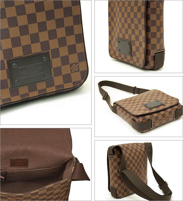 Louis Vuitton bags VUITTON LOUIS VUITTON N51210 Damier Brooklyn PM shoulder bag