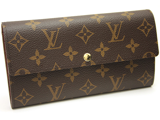 Louis Vuitton wallets LOUIS VUITTON Vuitton wallet M61734 Monogram portofouillesara wallet