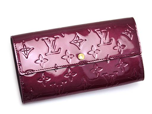 루이비통 지갑 LOUIS VUITTON 비통장 지갑 M91521 모노그램 베르니 사라장 지갑 르쥬포비스트