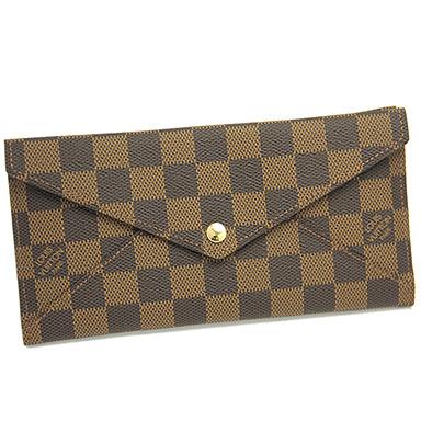 루이비통 지갑 LOUIS VUITTON 비통장 지갑 N63097 다미에포르트포이유오리가미론 2절장 지갑 다미에에베누