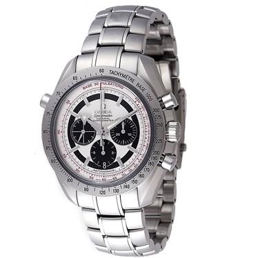 OMEGA オメガ スピードマスター ブロードアローラトラパンテ 3582.31 メンズウォッチ 腕時計 ホワイト/シルバー シリアル有