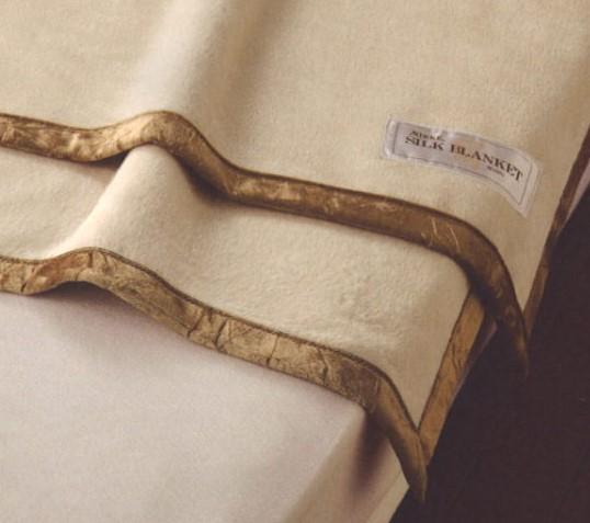 ニッケ シルク毛布
