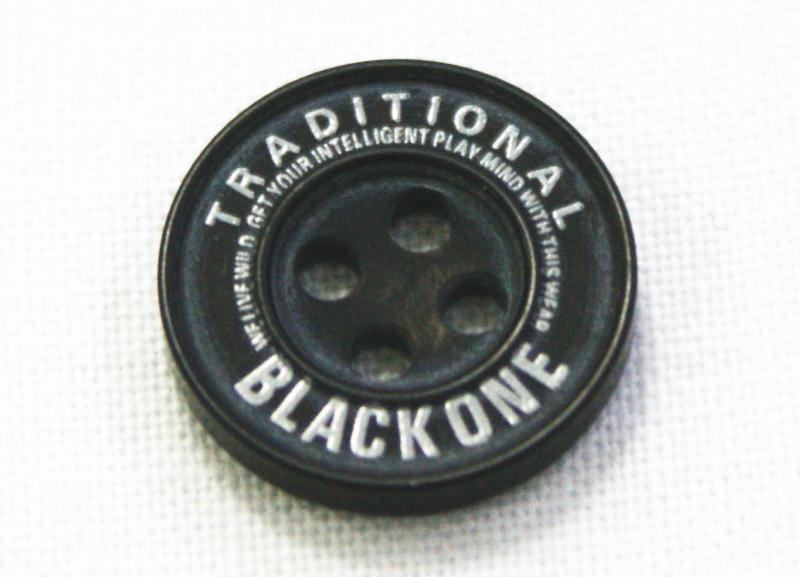 爆安プライス 学生ズボンボタン ピスボタン 樹脂 標準型対応 ロゴ:銀 SALENEW大人気 ☆メール便対応☆
