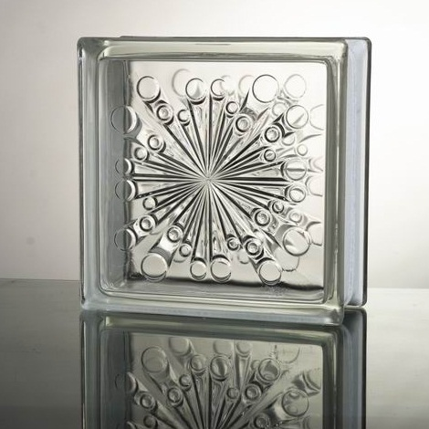 世界一売れるガラスブロック NEW 送料無料 ガラスブロックガラス 厚み80mm 定番キャンバス 国際基準サイズ