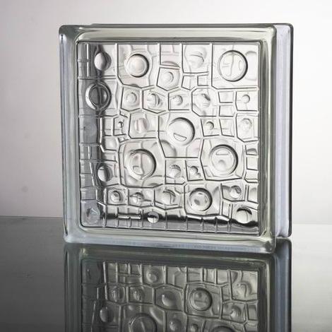 開店記念セール 世界一売れるガラスブロック 送料無料 ガラスブロックガラス 最新号掲載アイテム 厚み80mm 国際基準サイズ
