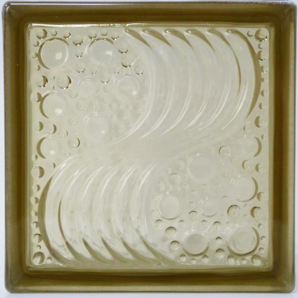世界一売れるガラスブロック 送料無料 ガラスブロックガラス 国際基準サイズ 厚み80mm 即納 茶色 屋内専用 35%OFF ブラウン