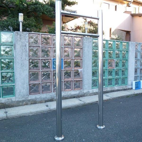 【送料無料】郵便ポスト郵便受けメールボックスシルバーステンレス色プレミアムステンレススタンドタイプ(silver)