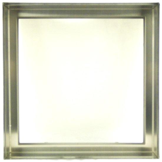【送料無料】ステンドガラスステンドグラスデザインパネル窓ドア壁アンティーク200x200ステンレス枠