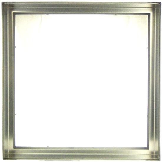 【送料無料】ステンドガラスステンドグラスデザインパネル窓ドア壁アンティーク300x300ステンレス枠