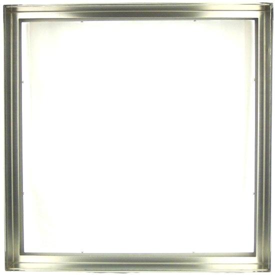 【送料無料】ステンドガラスステンドグラスデザインパネル窓ドア壁アンティーク400x400ステンレス枠