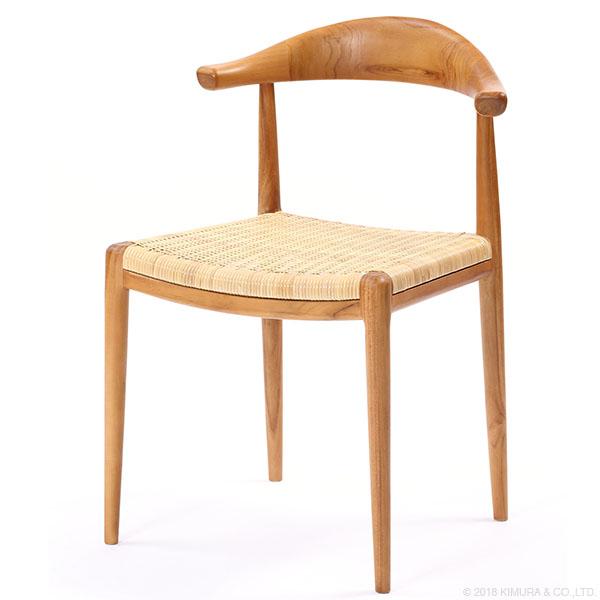 家具 インテリア イス 椅子 ダイニングチェア ダイニング チーク 木製 ラタン ナチュラル デザイン リラックス ゆったり