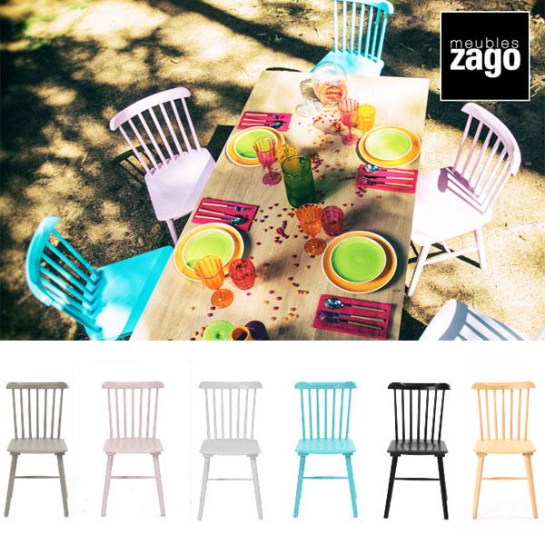 家具 インテリア ダイニングチェア ウィンザーチェア 食卓椅子 2脚セット 木製 北欧 ブラック ホワイト グレー ナチュラル ブルー ピンク カラフル おしゃれ かわいい カフェ レストラン