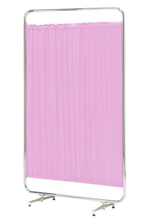 【送料無料】【日本製】シンプルなスクリーン衝立一本立 幅90cm 高さ153cm AS-90 クロスメディカルスクリーン 標準カーテン アジャスター脚