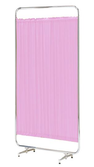 【送料無料】【日本製】シンプルなスクリーン衝立一本立 幅90cm 高さ180cm AS-90H クロスメディカルスクリーン 標準カーテン アジャスタ脚