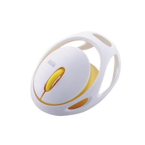 【マラソンでポイント最大43倍】エレコム Bluetooth(R)マウス EGG MOUSE FREE M-EG30BRWH