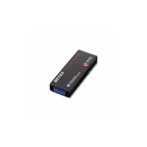 【スーパーセールでポイント最大44倍】BUFFALO バッファロー ハードウェア暗号化機能搭載 管理ツール対応 USB3.0対応 セキュリティーUSBメモリー ウイルスチェックモデル 64GB RUF3-HS64GTV5