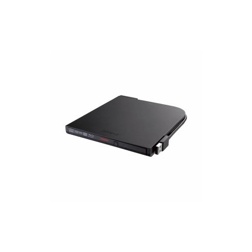 BUFFALO バッファロー BRXL-PT6U2V-BKD BDXL対応 USB2.0用 ポータブルブルーレイドライブ スリムタイプ ブラック BRXL-PT6U2V-BKD