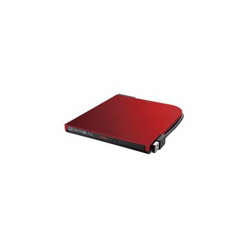 BUFFALO バッファロー BRXL-PT6U2V-RDD BDXL対応 USB2.0用 ポータブルブルーレイドライブ スリムタイプ レッド BRXL-PT6U2V-RDD
