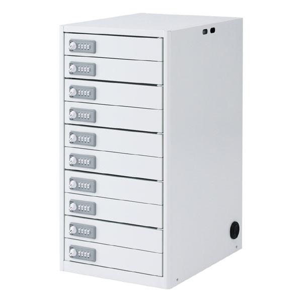 【スーパーセールでポイント最大43倍】タブレット・スレートPC10台個別収納保管庫