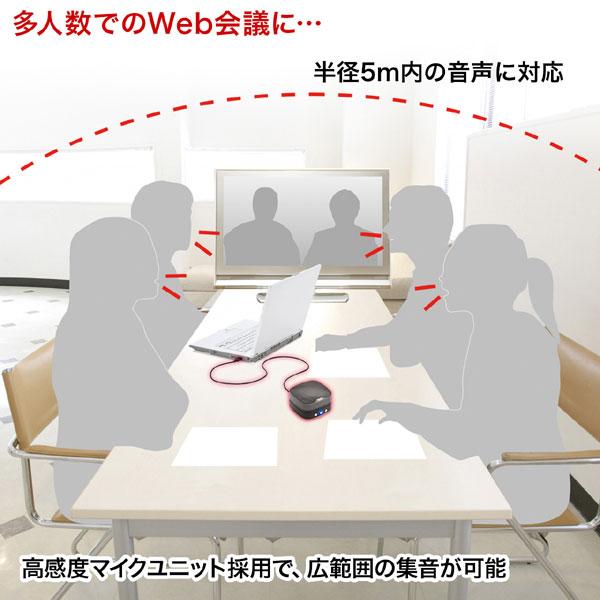 WEB会議小型スピーカーフォン
