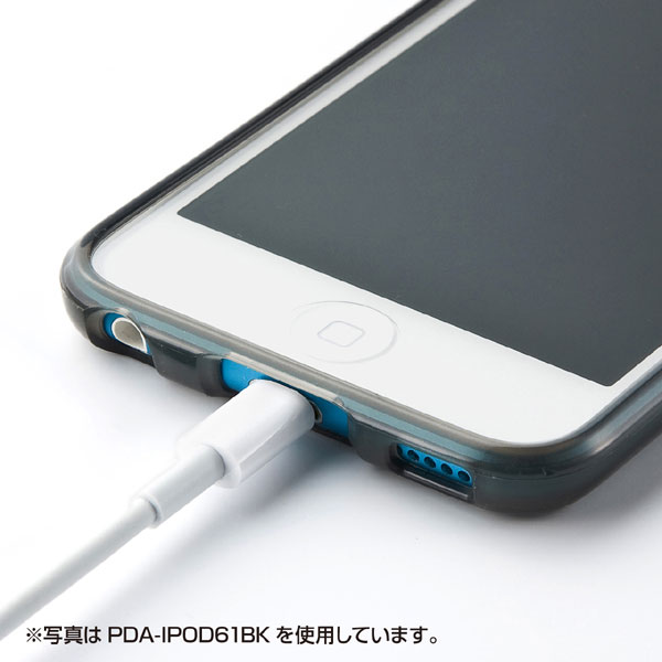 TPUソフトケース(iPodtouch第5世代用)クリア