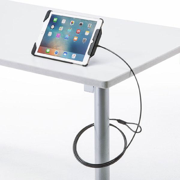 【スーパーセールでポイント最大43倍】9.7インチiPadPro/iPadAir2/Air対応セキュリティ(ブラック)