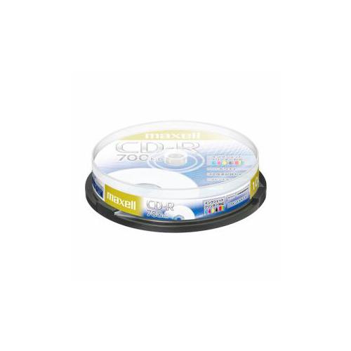 maxell CDR700SPNW10SP データ用CD-R ホワイトレーベルディスク 2-48倍 700MB 10枚 スピンドルケース