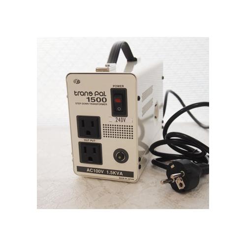 スワロー電機 受注生産のため納期約2週間ダウントランス 240V→100V / 1500W PAL-1500IP