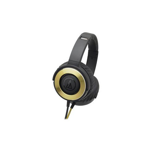 【マラソンでポイント最大43倍】Audio-Technica オーディオテクニカ ダイナミック密閉型ヘッドホン ブラックゴールド ATH-WS550-BGD