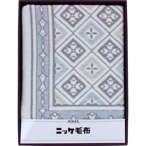 NIKKE 綿混ウール毛布(毛羽部分) B3159047