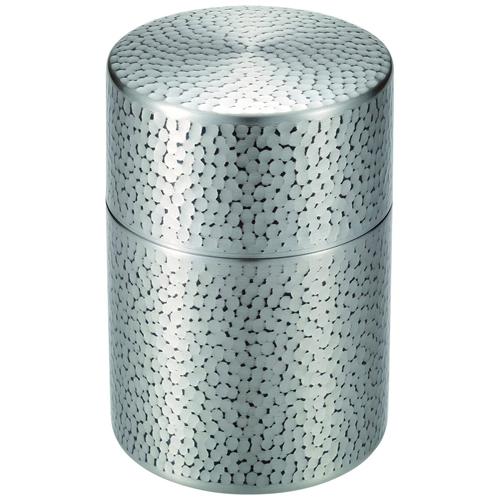 純銅錫被仕上げ茶筒