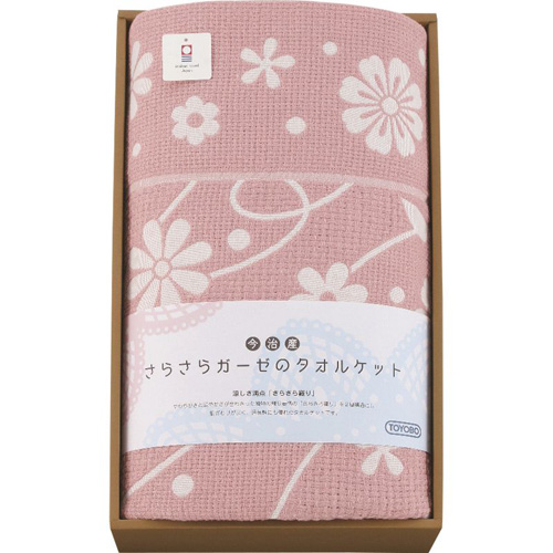 東洋紡 今治産さらさらガーゼのタオルケット B3157050