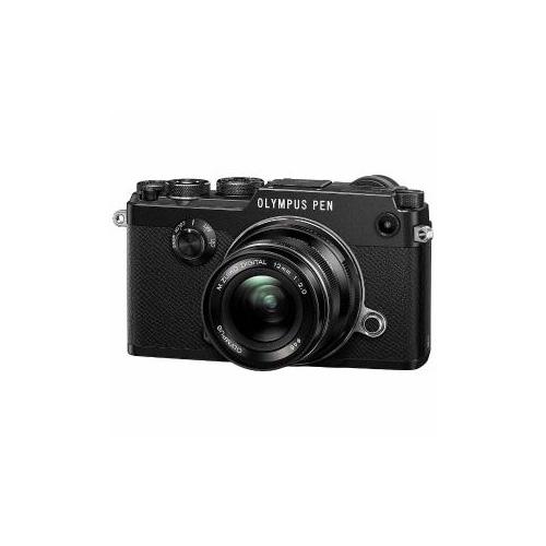 OLYMPUS ミラーレス一眼カメラ「PEN-F」12mmF2.0 レンズキット(ブラック) PEN-F-L12KIT