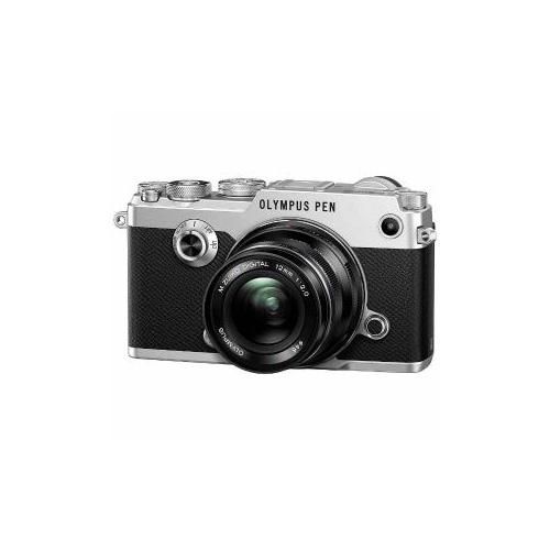 OLYMPUS ミラーレス一眼カメラ「PEN-F」12mmF2.0 レンズキット(シルバー) PEN-F-L12KIT