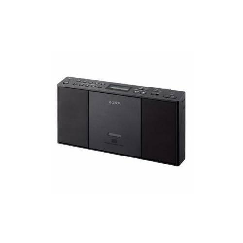ソニー ワイドFM対応 CDラジカセ(ブラック) ZS-E30-B
