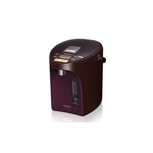 【スーパーセールでポイント最大44倍】Panasonic 電動給湯式電気ポット (3.0L) ブラウン NC-SU304-T
