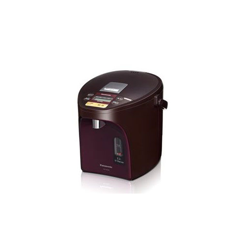 【マラソンでポイント最大43倍】Panasonic 電動給湯式電気ポット (2.2L) ブラウン NC-SU224-T