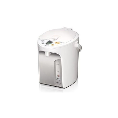 【マラソンでポイント最大43倍】Panasonic 電動給湯式電気ポット (3.0L) ホワイト NC-HU304-W