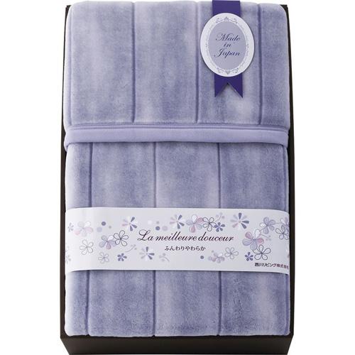 西川リビング 日本製軽量アクリルニューマイヤー毛布(毛羽部分) B3156035
