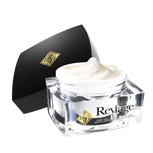 Reviage ステムセル&グロースファクター リバイタライジングゴールドナノクリーム