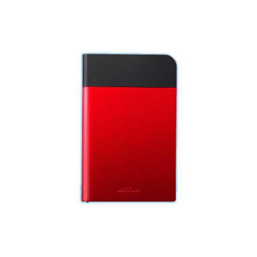 BUFFALO バッファロー ICカード対応MILスペック 耐衝撃ボディー防雨防塵ポータブルHDD レッド 1TB HD-PZN1.0U3-R HD-PZN1.0U3R