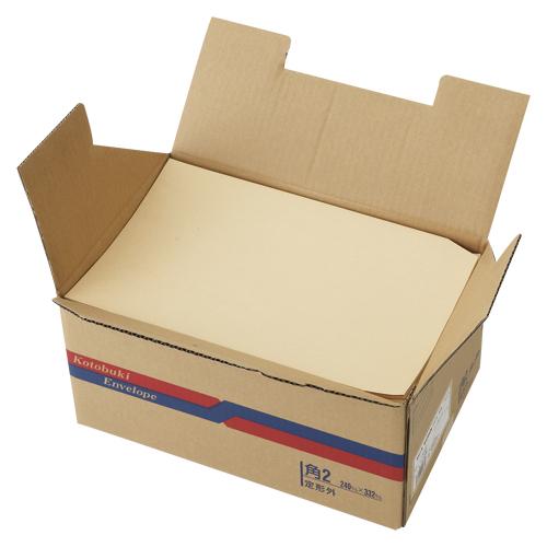 (まとめ) 封筒 寿堂 森林認証紙封筒(サイド貼り) 00583 4972924005835 ●規格:角2 1箱【5×セット】