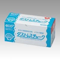 (まとめ) チョーク 日本理化学 ダストレスチョーク 赤 DCC-72-R 4904085111728 1箱【10×セット】