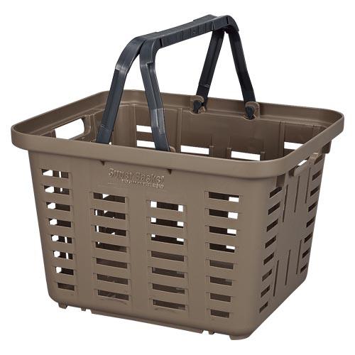 (まとめ) 工具箱 リングスター スーパーバスケット ブラウン SB-370 4963241007299 ●外寸:幅370×奥320×高245mm 1個【10×セット】