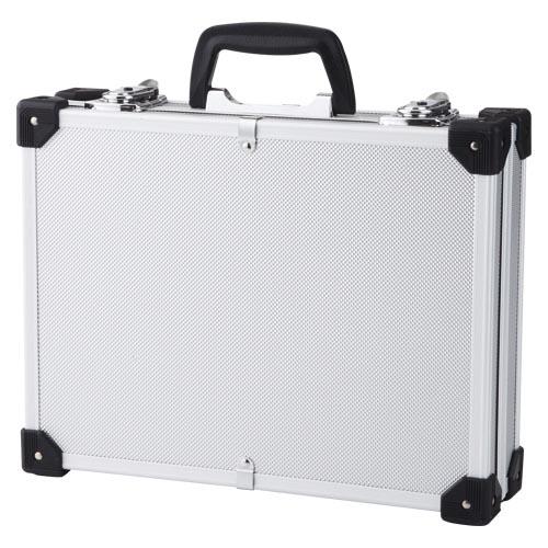 (まとめ) 工具箱 アイリスオーヤマ アルミケース シルバー AE-1 4905009234073 1個【5×セット】